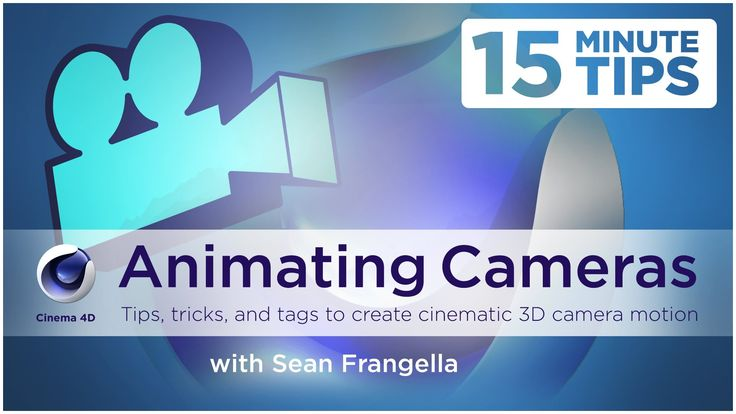 Cinema 4D Camera Tutorial - Camera Animation Tips, Tricks, and Tags (C4D...