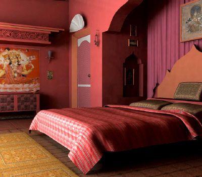 indisches schlafzimmer gestalten   mabsolut, Modernes haus