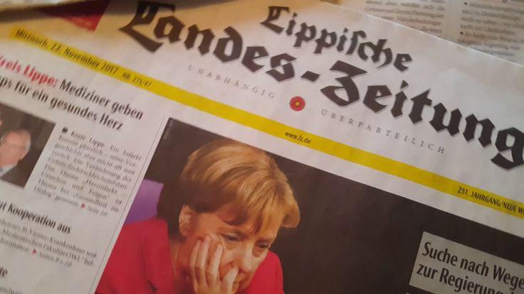 Problemy Angeli Merkel