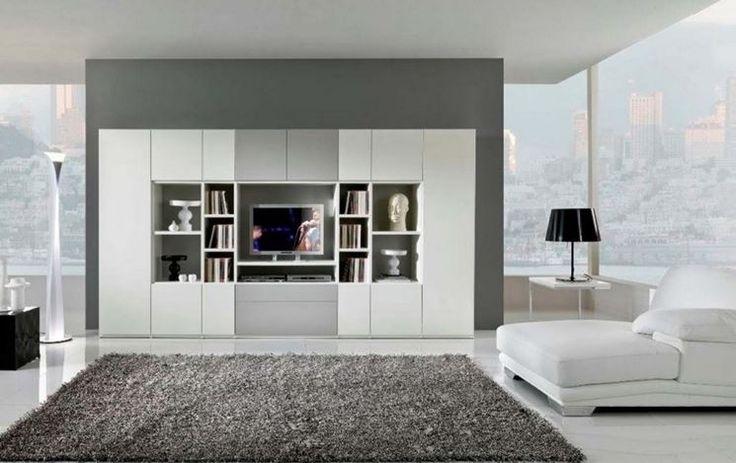 Libreria Besta combinata a sistema Uppleva per un ambiente moderno