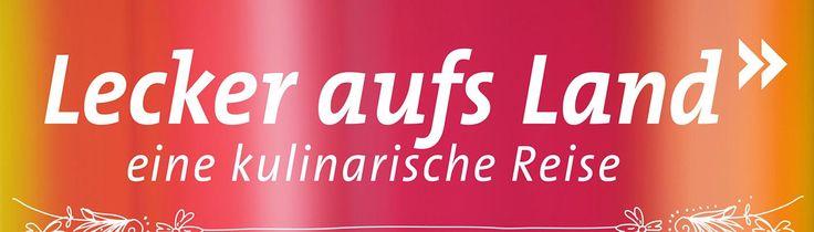 """Logo mit Schriftzug """"Lecker aufs Land"""""""