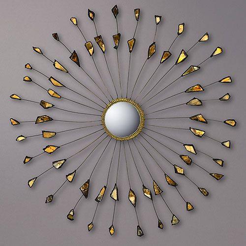1950_ miroir 'soleil' par Line Vautrin