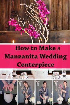 DIY Manzanita Centerpiece                                                       …