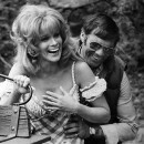 Ann-Margret and director Hal Needham break up while rehearsing a scene from The Villain