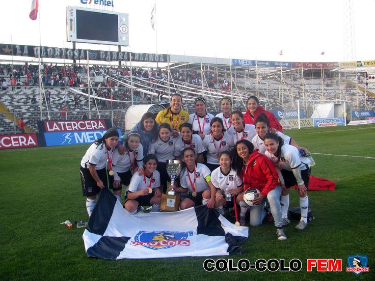 Equipe féminine champion #9ine @ColoColo
