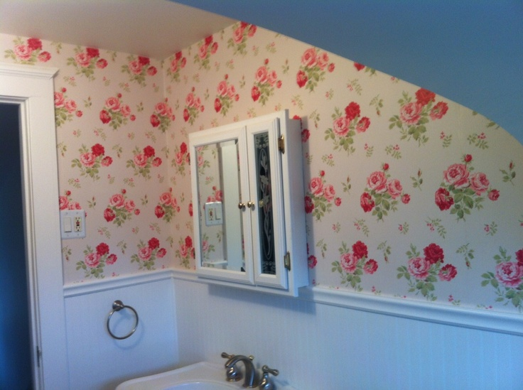 The wallpaper is up cath kidston to the rescue for Cath kidston style bedroom ideas