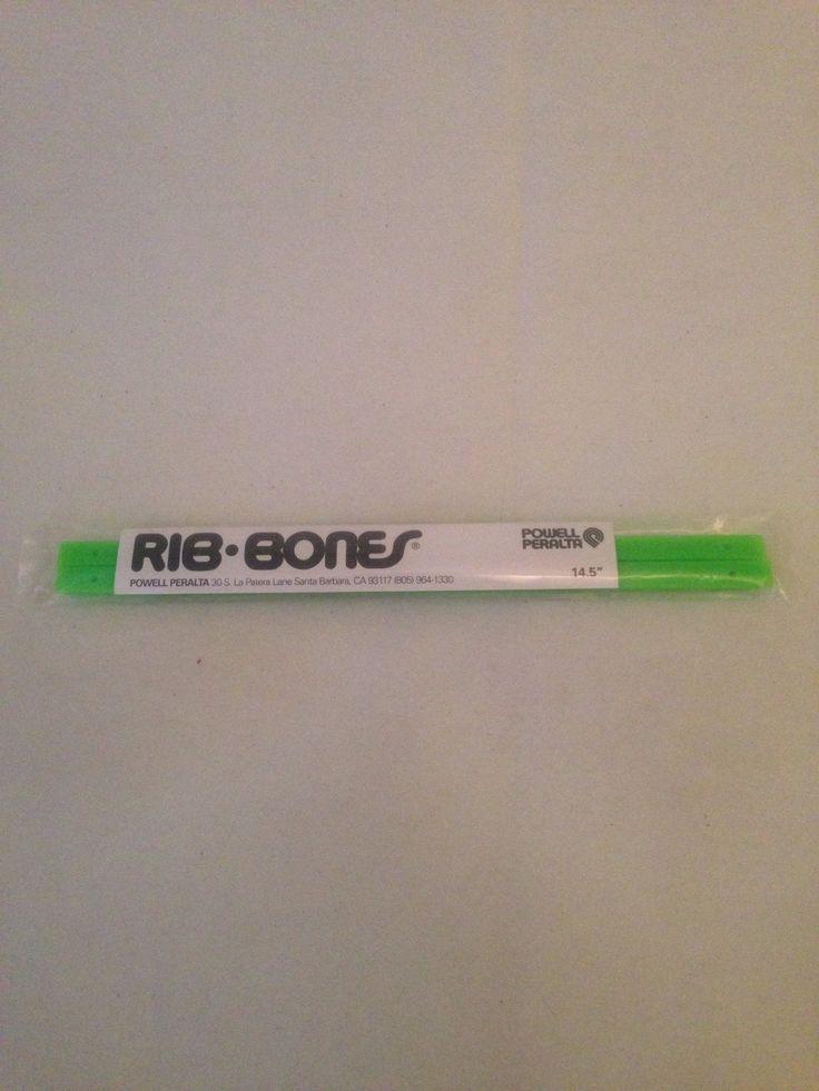 Bones Rib Skateboard Rails Neon Green