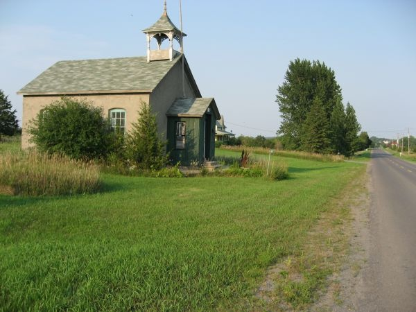 An old school house in Prince Edward County.