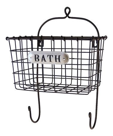 This 'Bath' Bin is perfect! #zulilyfinds