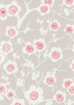 Ritva Kronlund: Kirsikkapuu tapetti / wallpaper 48,70 € rulla    Makuuhuoneen tapetti