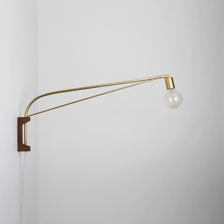 Solid Brass Bent Arm With A Brazed Brass Support Rod. Swivels 180 Degrees  On The Wall. Find This Pin And ...