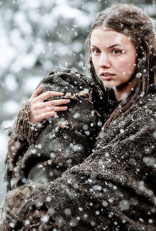 "stormbornvalkyrie:  ♕ Gilly | Game of Thrones 5.07  ""The Gift"" {x}"