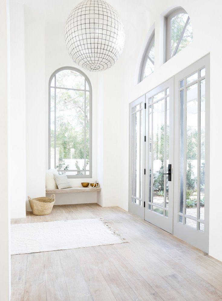 Minimalist Beach House: Serene, Whitewashed Minimalist Malibu Home Tour In 2020