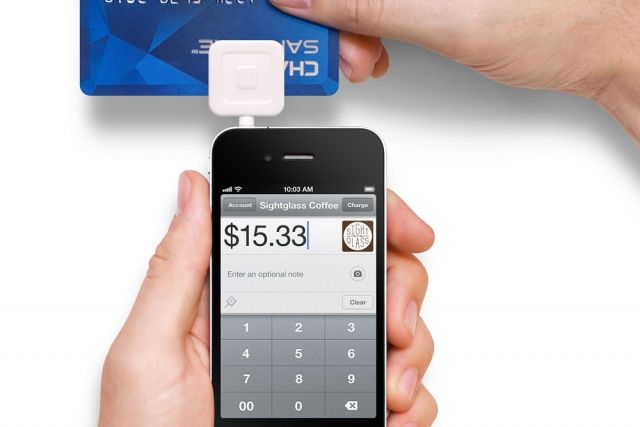 There are many options for accepting credit cards through your smartphone or tablet. Check out this article for a comparison of some popular card readers.