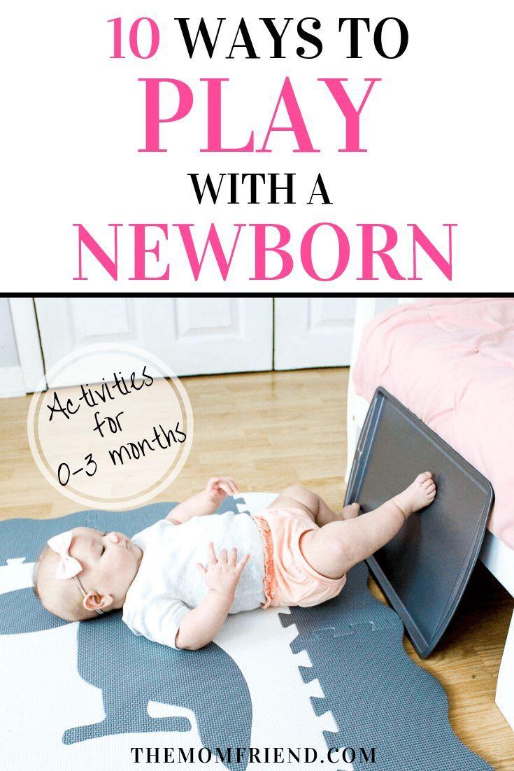 Eine großartige Liste mit einfachen Aktivitäten zum Spielen mit Baby, mit Tipps zum Spielen