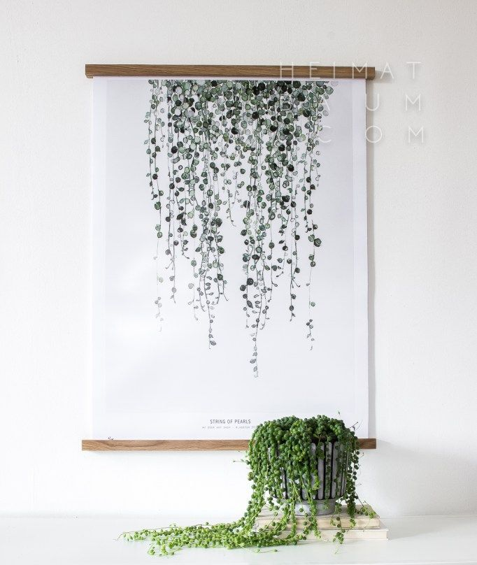 String of Pearls print By My Deer Art Shop. Picture credits: Blog - HEIMATBAUM