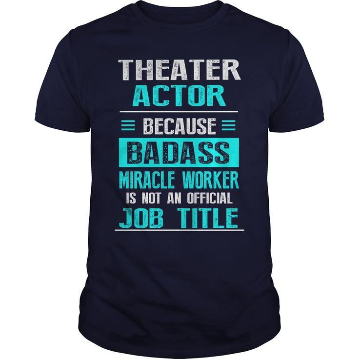 THEATER ACTORTHEATER ACTORjob title