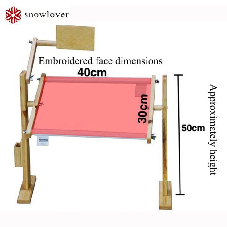 Verstelbare Massief Hout Kruissteek Rack, Houten Stand Desktop Kruissteek borduren Frame, Chinese Kruissteek Kit 30*40*50 cm(China (Mainland))