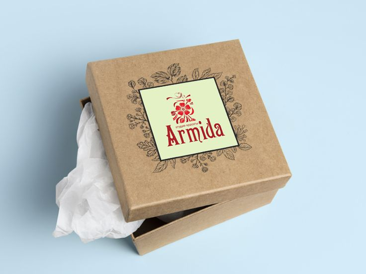 "Логотип студии красоты ""Armida"""