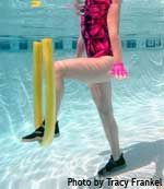 8 Pool Exercises That Will Burn Fat. Summer is almost here and if you have joint problems, fibro or just want a different workout, jump in the pool. It is a great way to burn calories and change up your workout.