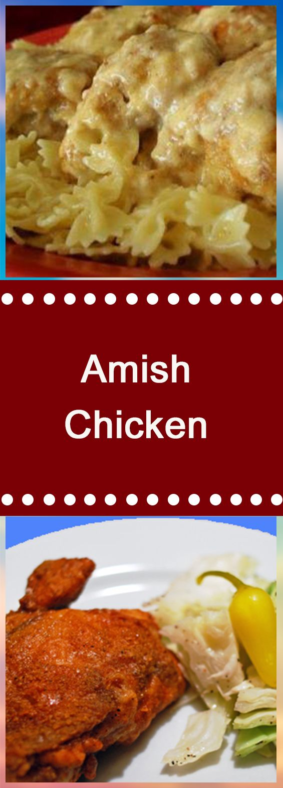 Amish Chicken #weightlossrecipes #chicken #chickendinner #glutenfreerecipes #chickens #chickenrecipes