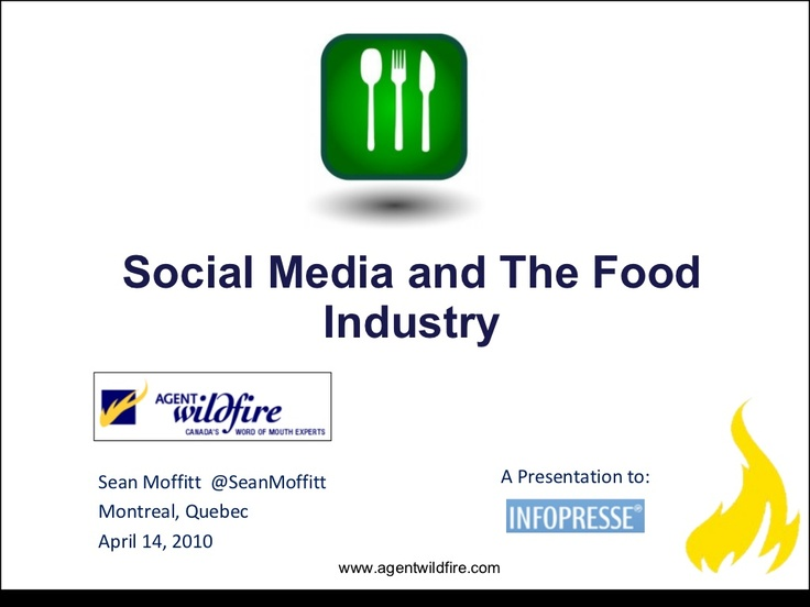 agent-wildfire-social-media-and-the-food-industry by Wikibrands via Slideshare -page 53