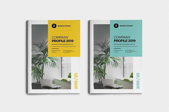 Company Profile by World Print on @creativemarket #brochure #stationery #companyprofile #design #books #proposal #project