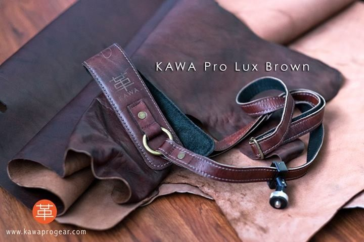 A genuine leather camera strap made with full grain cow leather. Perfect for all types of DSLR cameras. A photographer's dream strap. Know more at www.kawaprogear.com