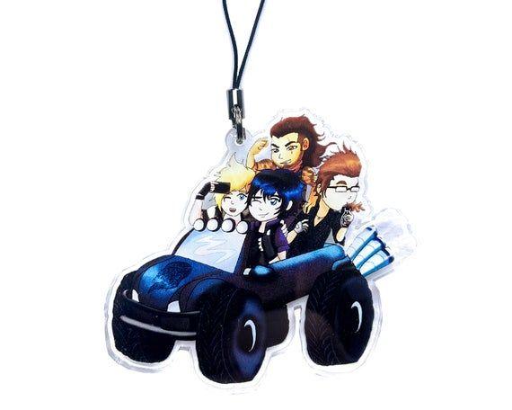 Final Fantasy XV Keychain Charm Noctis FF15 FFXV