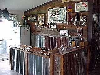 Rustic Man Cave Bar Ideas Corrugated metal bars - google search store ...