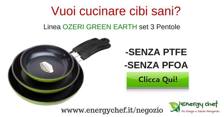 A differenza di altri padelle in ceramica , le ozeri Green Earth Ozeri utilizzano la ceramica GREBLON - un rivestimento in ceramica ultrasicuro.