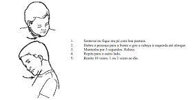 Exercícios Terapêuticos para a dor cervical- Também Indicados para Cefaleia Tensional O QUE É  Estes são alguns dos exercícios reco...