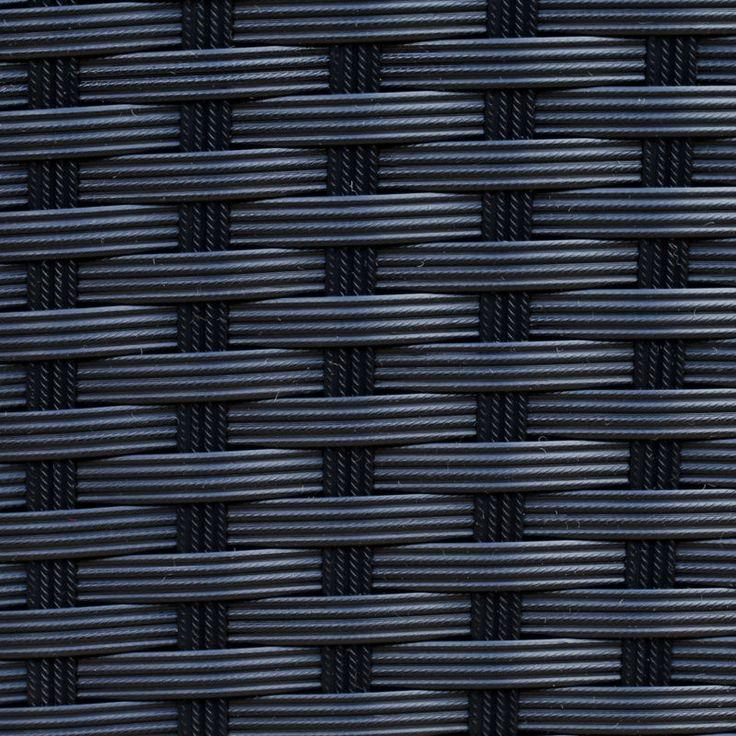 Black Rattan Weave Colour