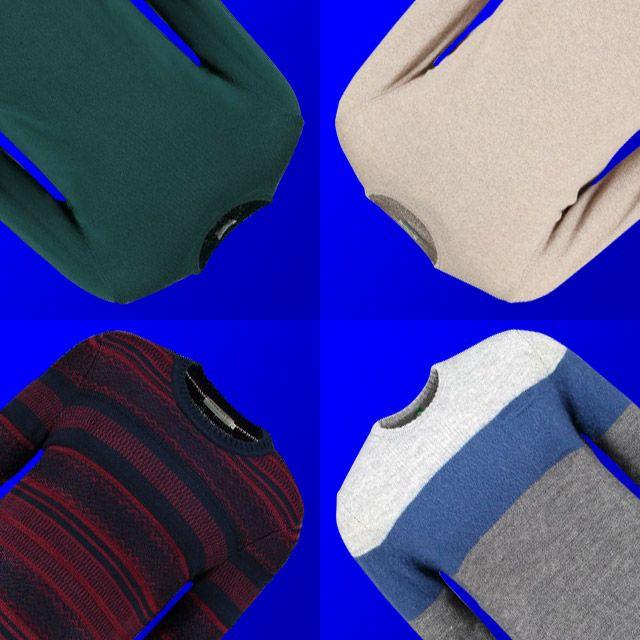 Pullover di ogni tipo e colore per l'inverno maschile. La moda uomo propone modelli diversi: tu quale preferisci?