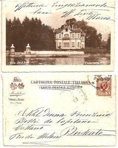 Antica cartolina - Villa Dozzio | Tavernola #lakecomoville