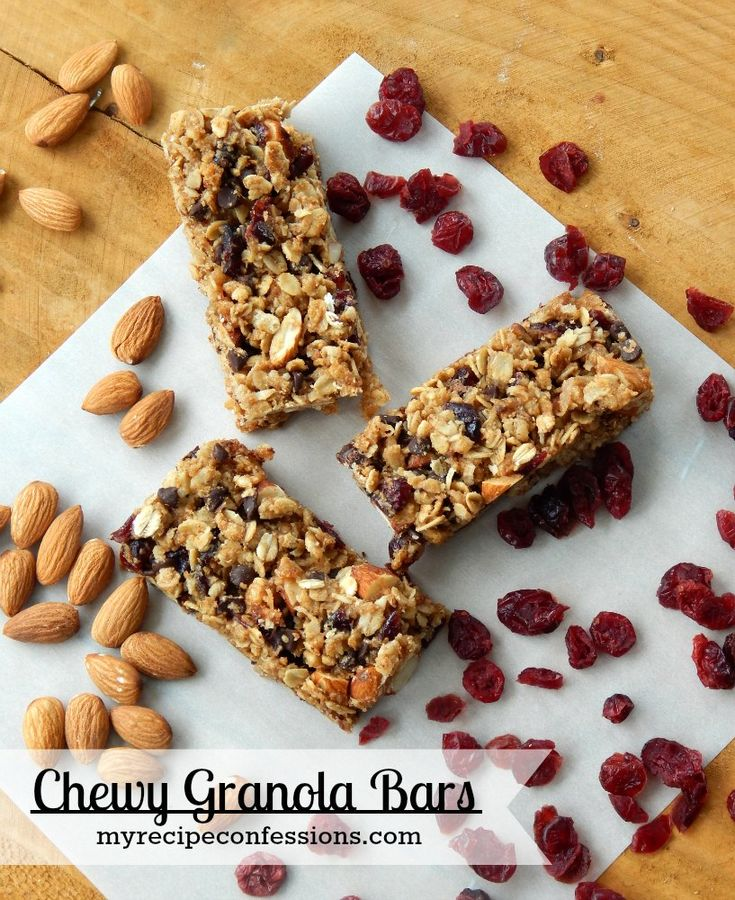 I have always loved granola bars. I like to have them on hand for my kids to put in their schools lunches or for when they want a snack. My kids like the chewy granola bars but not the crunchy ones...