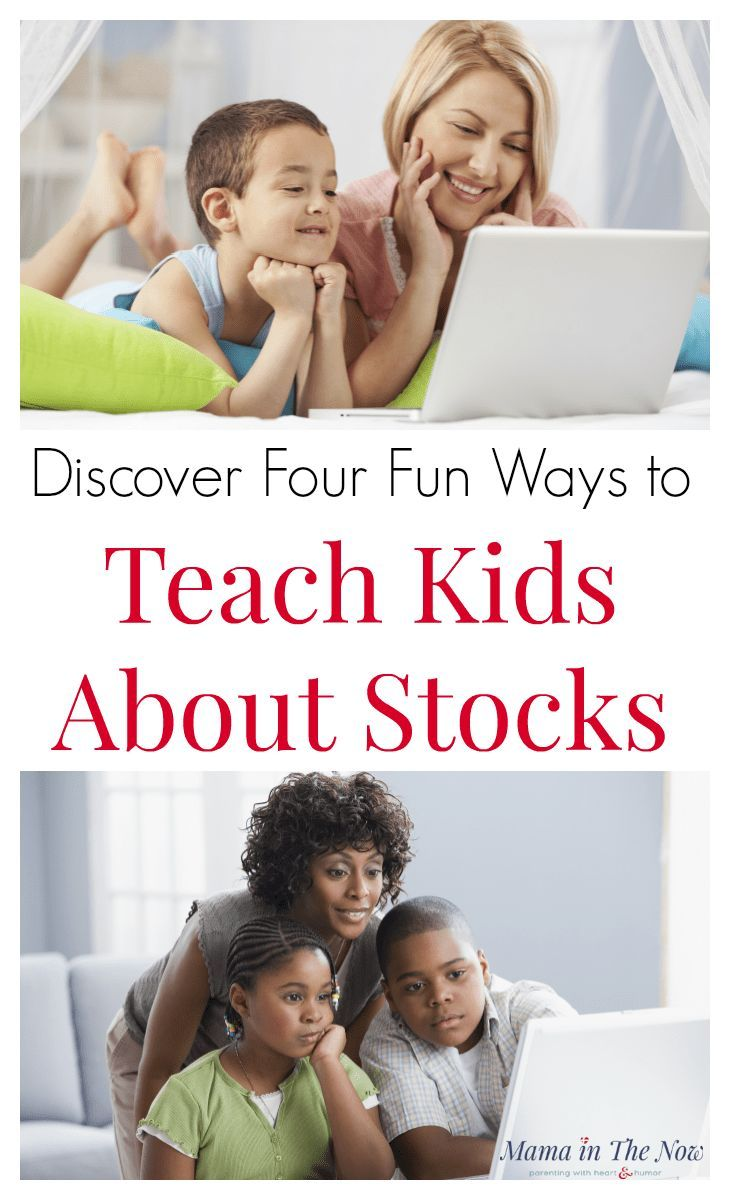 Four fun ways to teach your kids about stocks, the stock market and investing. Parenting and teaching through play. Financial literacy is important at any age. Start teaching kids about finance, investments and money management to make it a normal part of their day. #FinancialLiteracy #Stocks #TeachKidsAboutStocks #MoneyManagement #BusyKid #Chores