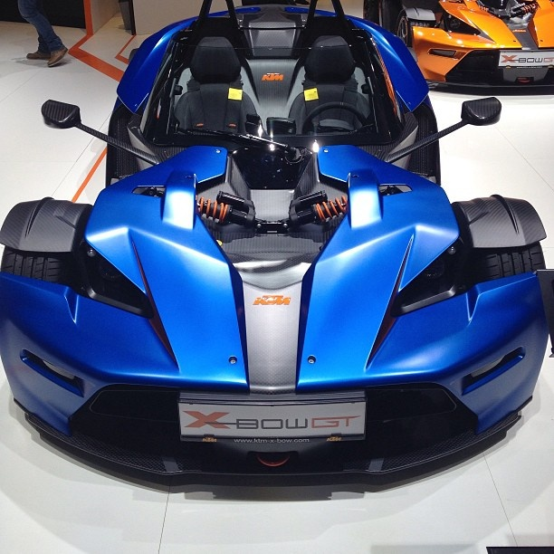 KTM XBOW GT In A Deep Sea Blue! Which Do You Prefer This