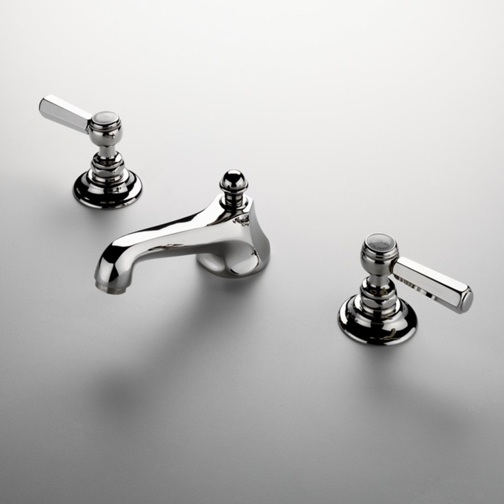 three hole bathroom sink faucet. Astoria Three Hole Deck Mounted Lavatory Faucet  traditional bathroom faucets by Waterworks 285 best sinks shower bathtub images on