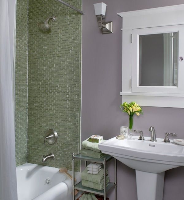 Colorful Ideas To Visually Enlarge Your Small Bathroom Best Colors For Small Bathrooms