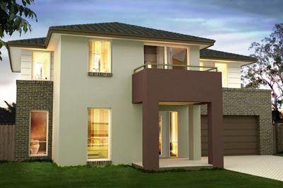 Estilos de casa fachadas buscar con google casa no - Colores para una casa ...