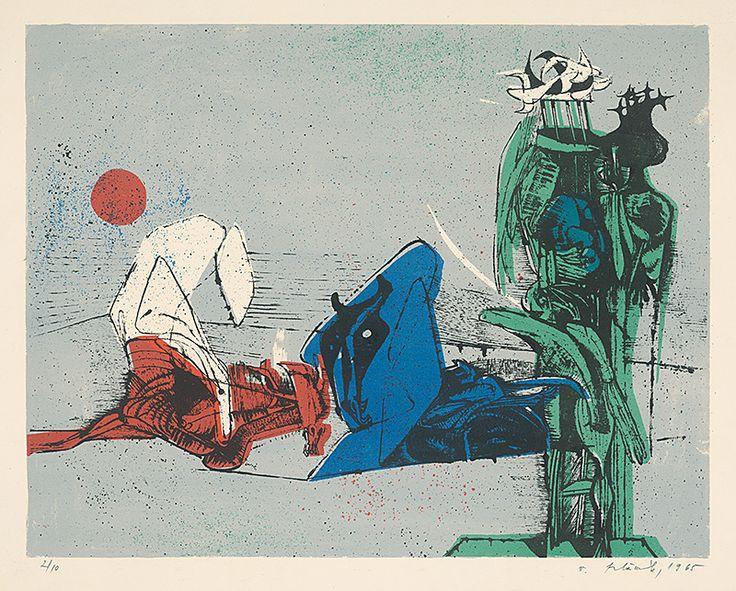 Vincent Hložník - 19 - List z cyklu Veselý zvierací svet | Web umenia