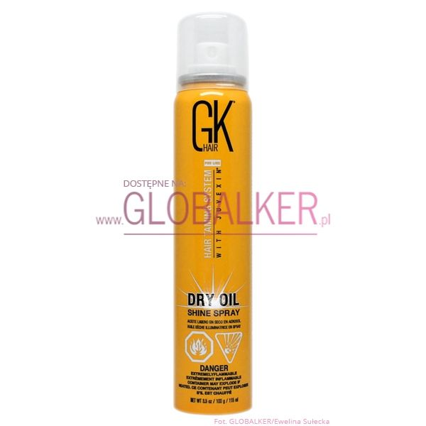 GK Hair suchy olejek 115ml dry oil shine spray Global Keratin sklep warszawa #globalker #pielegnacjawlosow #wlosy #suchyolejek #gkhairolejek #globalkeratinolejek #gkhairsklep #gkhairwarszawa #globalkeratinsklep #globalkeratinwarszawa #sklepwarszawa #spray #uvuva #oil