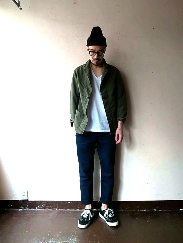 AU GARCONS LEO (WASHED NYLON) : TODAY IS THE DAY official blog