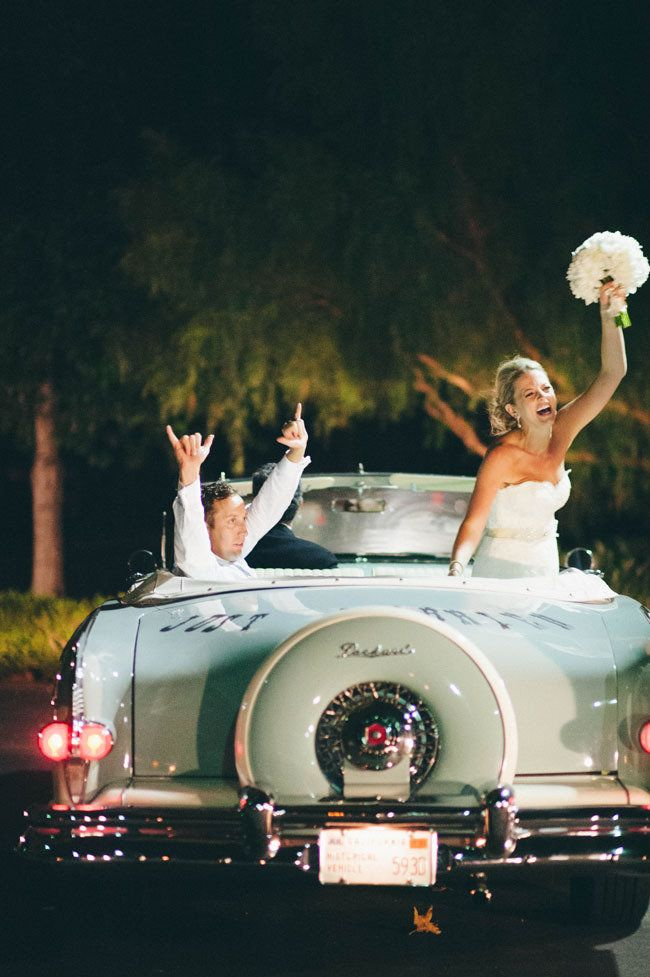 124 Best Wedding Cars Images On Pinterest Wedding Getaway Car