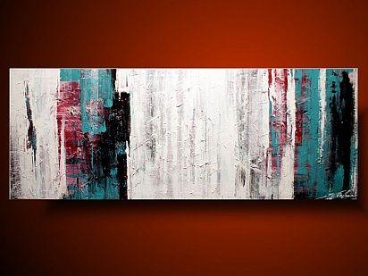 Abstrakcja spokojny minimalizm DUŻE OBRAZY RĘCZNIE MALOWANE NA PŁÓTNIE 1178A