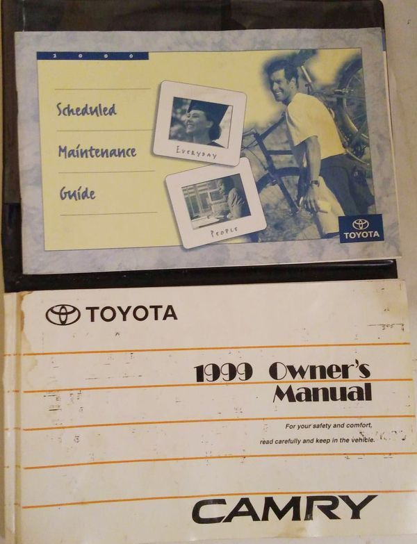 Owners Manual 1999 Toyota Camry For Sale In Mobile Al Offerup Owners Manuals Toyota Camry For Sale Toyota