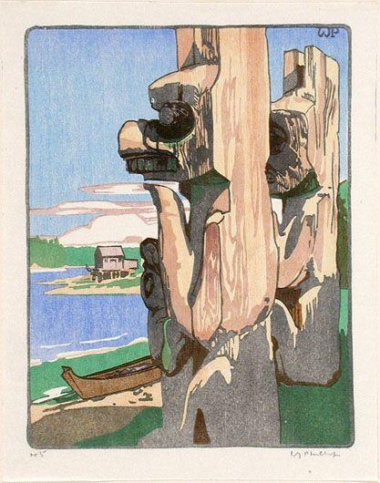 Siwash House Posts, Tsatsisnukomi, British Columbia<br/><Titre_r><Titre_ng>From the album
