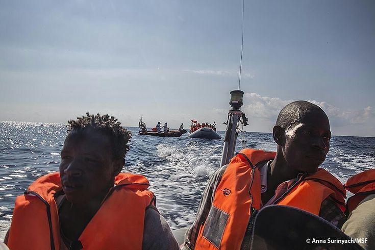 Operación para ayudar y salvar a las personas, refugiados y migrantes, que intentan llegar a Europa