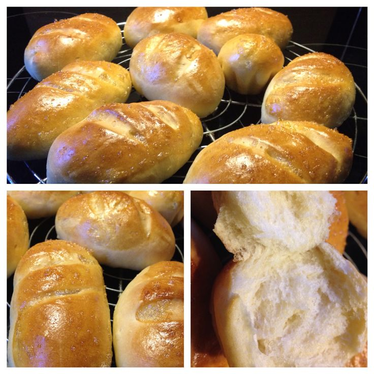 Petits pains au lait - d'après une recette du blog C'est ma fournée